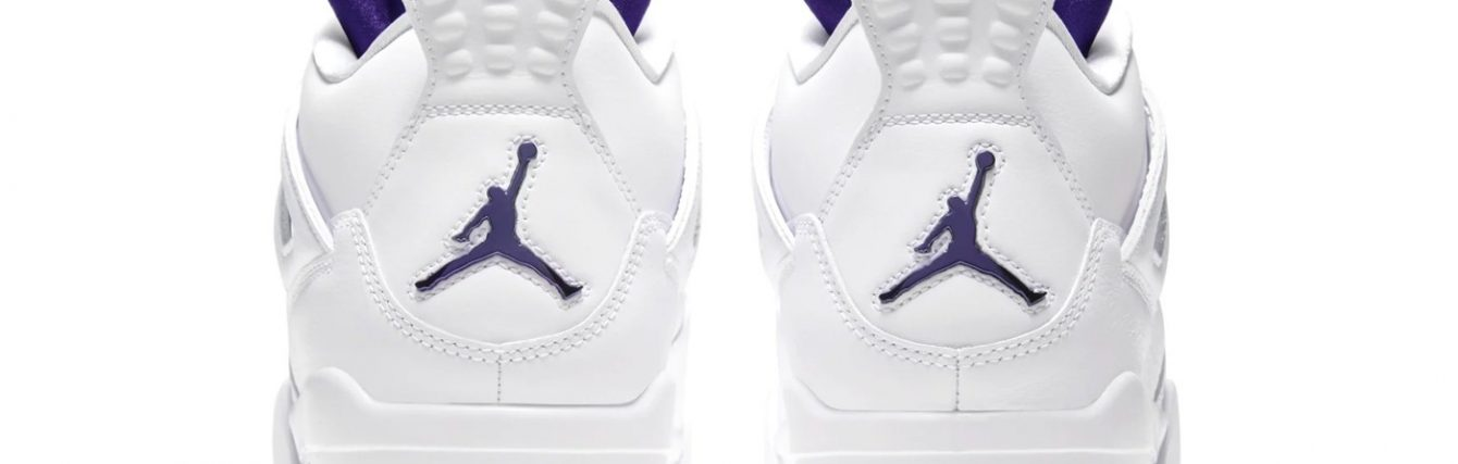 jordan brand air jordan 4 metallic purple