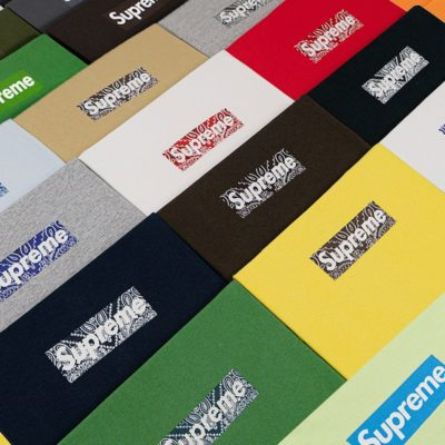 "Image for Christie's Set to Auction Supreme ""The Box Logo Collection"""